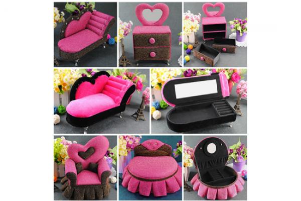 沙發造型首飾盒|婚禮小物