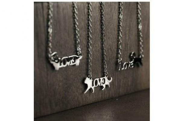暢銷熱賣-LOVE不鏽鋼項/手鍊