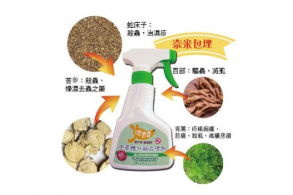 環保靈-寵物寶貝體外驅蟲噴劑
