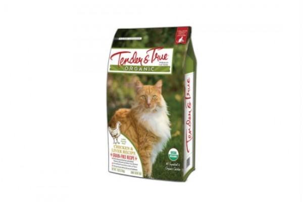 Tender & True 真綠鮮薈‧貓-有機雞肉與雞肝配方