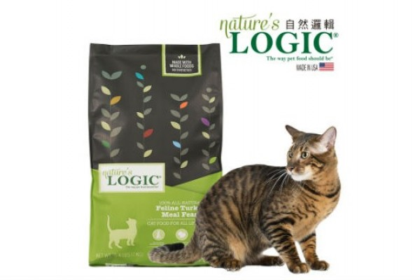 Nature's Logic 自然 邏輯貓糧- 火雞肉口味 3.3 磅