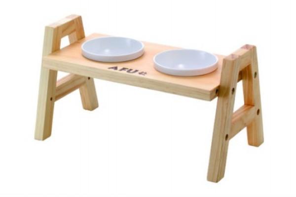 阿富兩口原木餐桌