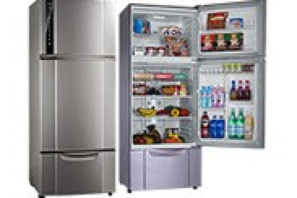 新變頻光觸媒UV抑菌光機型三門冰箱