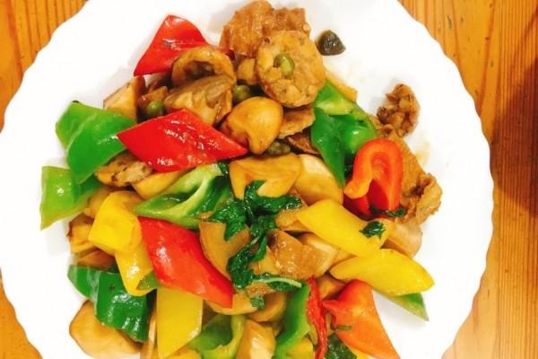 【蔬食廚房】三杯益菌天貝