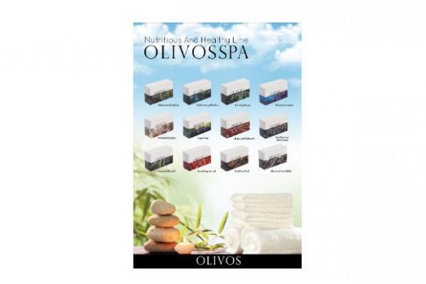 Olivos SPA 橄欖油手工皂*4入