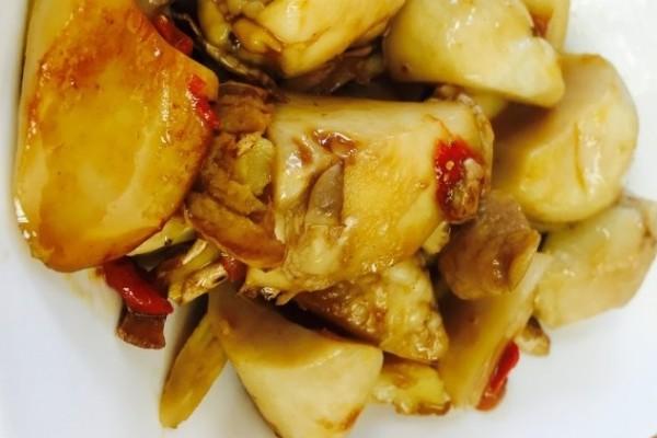 【蔬食廚房】冷壓麻油佐杏鮑菇