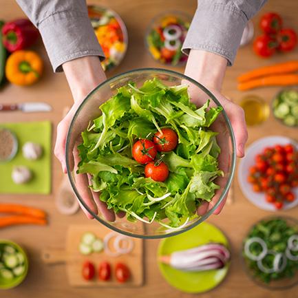 蔬食百匯區