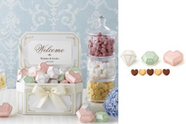 Jewel box welcome object set 珠寶箱-愛心餅乾
