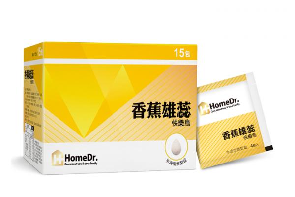 【HomeDr.】香蕉雄蕊快樂鳥 (盒/15包)
