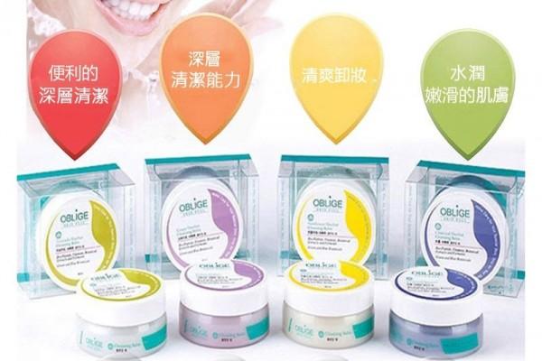 韓國OBLIGE~深層清潔植物卸妝霜