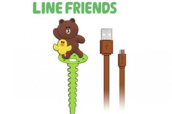 LINE數位傳輸充電線