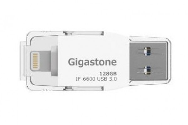 Gigastone i-FlashDrive IF6600 USB 3.0 128G Apple隨身碟
