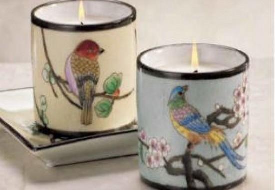 Zodax L'oiseau香薰蠟燭罐系列