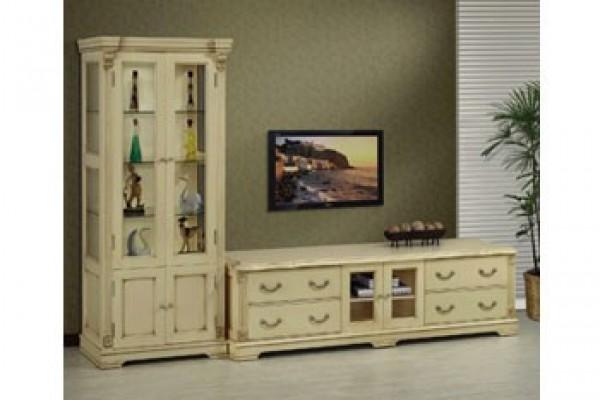 仿古風-高櫃+6尺,7尺電視櫃