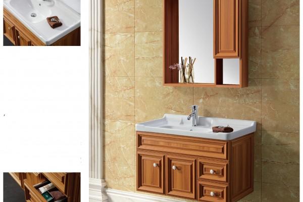 超合金木紋浴室廚櫃