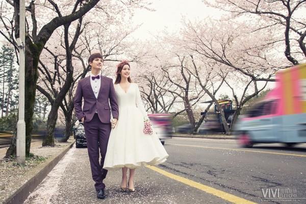 韓國濟州島蜜月婚拍