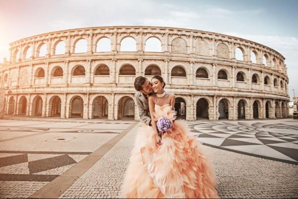 澳洲海外蜜月婚拍