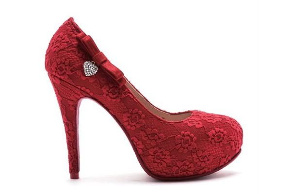 ReSarah時尚手作婚紗鞋-心律交響曲
