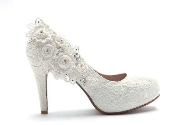 ReSarah時尚手作婚紗鞋-前往幸福