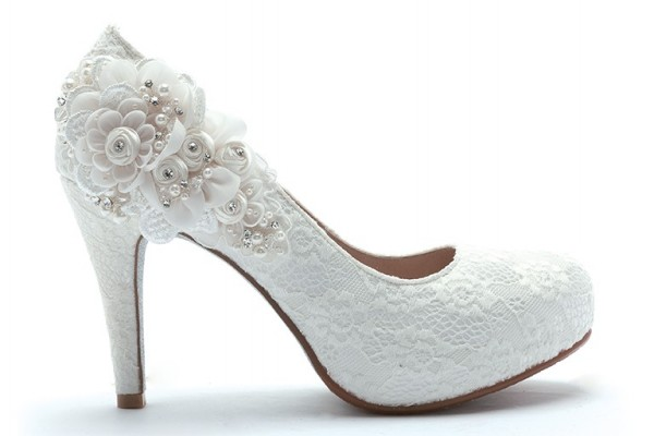 ReSarah時尚手作婚紗鞋-花開時就相愛吧