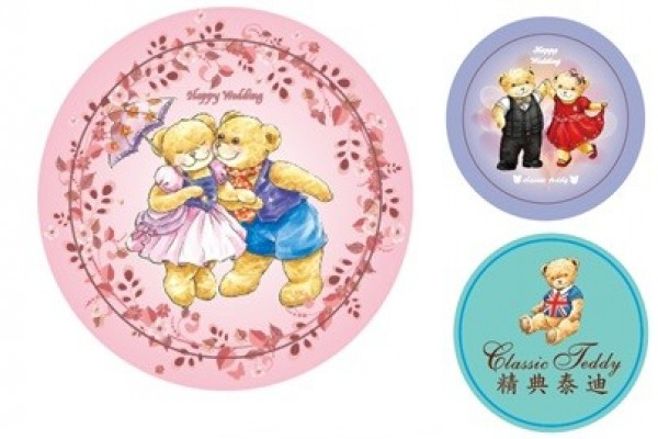 泰迪熊授權 客制化婚禮小物