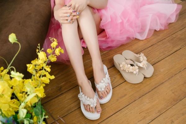 山楂花蜜月鞋