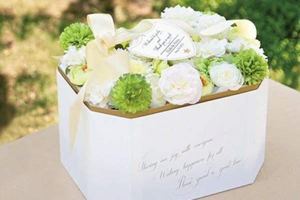 Fleur blanche bijou -白玫瑰寶石盒(掏耳棒組)