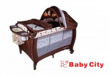 娃娃城 Baby City 全配式豪華雙層遊戲床