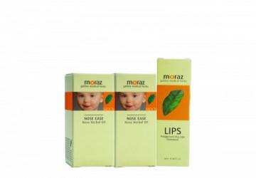 【寶寶舒緩修護組】寶貝植物舒緩精華油10ml*2+修護唇膏10ml*1