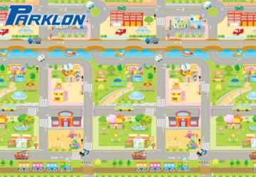 PARKLON 韓國帕龍經典款無毒地墊 - 單面切邊 車車迷宮