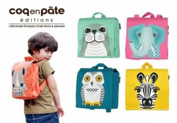 COQENPATE法國有機棉無毒環保布包 - 小童寶包幫
