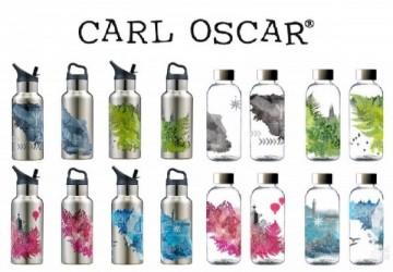 瑞典 CARL OSCAR—買不鏽鋼保冷保溫水壺送輕量安全水瓶(顏色隨機)