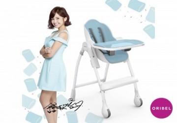 口碑熱賣超美型Oribel成長型多功能高腳餐椅