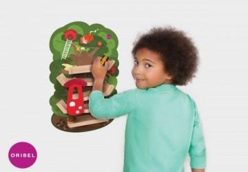 新加坡Oribel創意壁貼玩具 任選兩件再送扣扣門壁貼