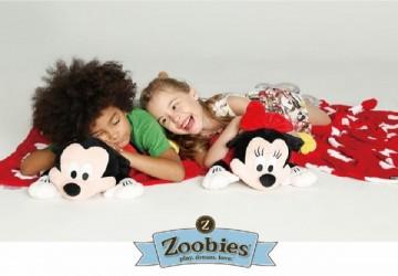 Zoobies多功能造型玩偶毯 迪士尼 佩佩豬系列