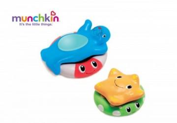 Munchkin海洋洗澡浮球玩具