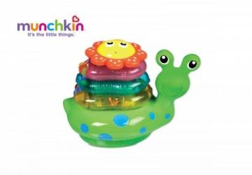 Munchkin蝸牛洗澡疊疊樂