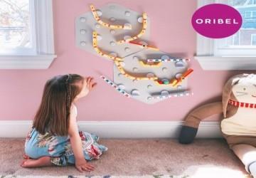 超好玩 Oribel-STEM智能軌道組-基礎創意組(2片裝)