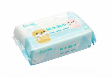 蘭韻純水濕巾80抽無蓋:12入/3箱