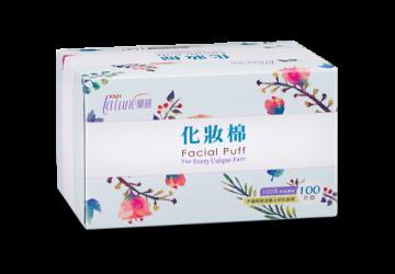 蘭韻紙纖化妝棉100片裝:任選12盒85折