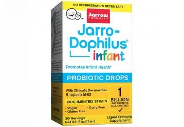 Jarrow賈羅公式 杰嘟菲兒®M-63嬰兒益生菌滴液(15ml/瓶)