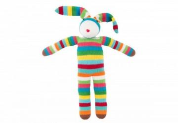 global affairs 童話手工編織安撫玩偶(36cm)-獨家小丑兔