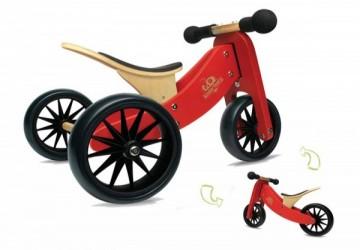Kinderfeets 美國木製平衡滑步車/教具車-初心者三輪系列
