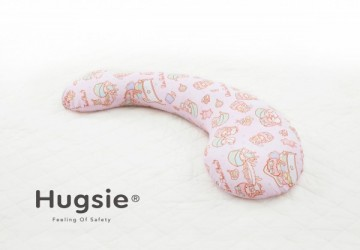 Hugsie x 雙子星聯名孕婦枕-【防螨款】