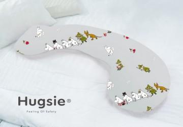 Hugsie接觸涼感型孕婦枕-圖紋系列-北歐森林【防螨款】