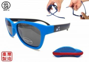 【MIT台灣製】兒童偏光抗UV太陽眼鏡(贈汽車造型眼鏡盒)