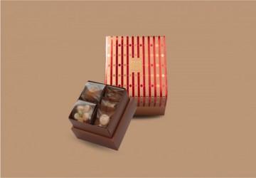 宮廷奢華系列 - 寶石紅 (M) 15入