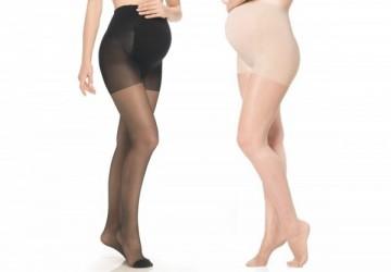 孕婦透明絲襪(膚/黑)