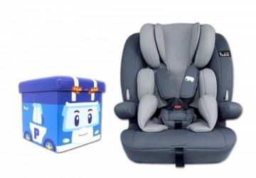 YoDa 成長型兒童安全座椅加贈送波力收納箱萌版
