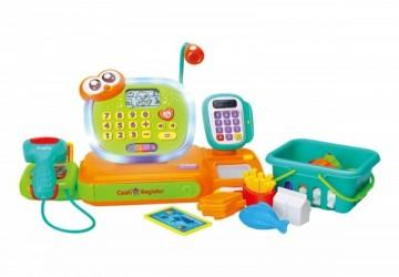 香港HOLA幼兒聲光玩具-智能互動學習收銀台